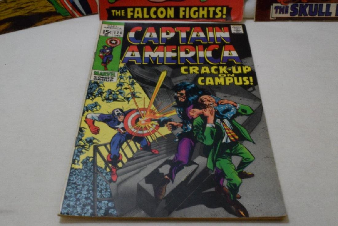 1969 MARVEL COMICS GROUP CAPTAIN AMERICA - 4