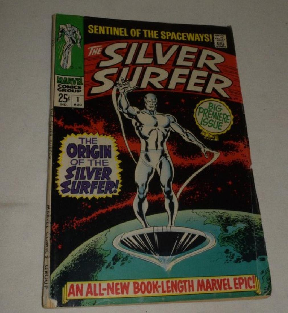 1968 FIRST ISSUE OF SILVER SURFER BY MARVEL COMICS
