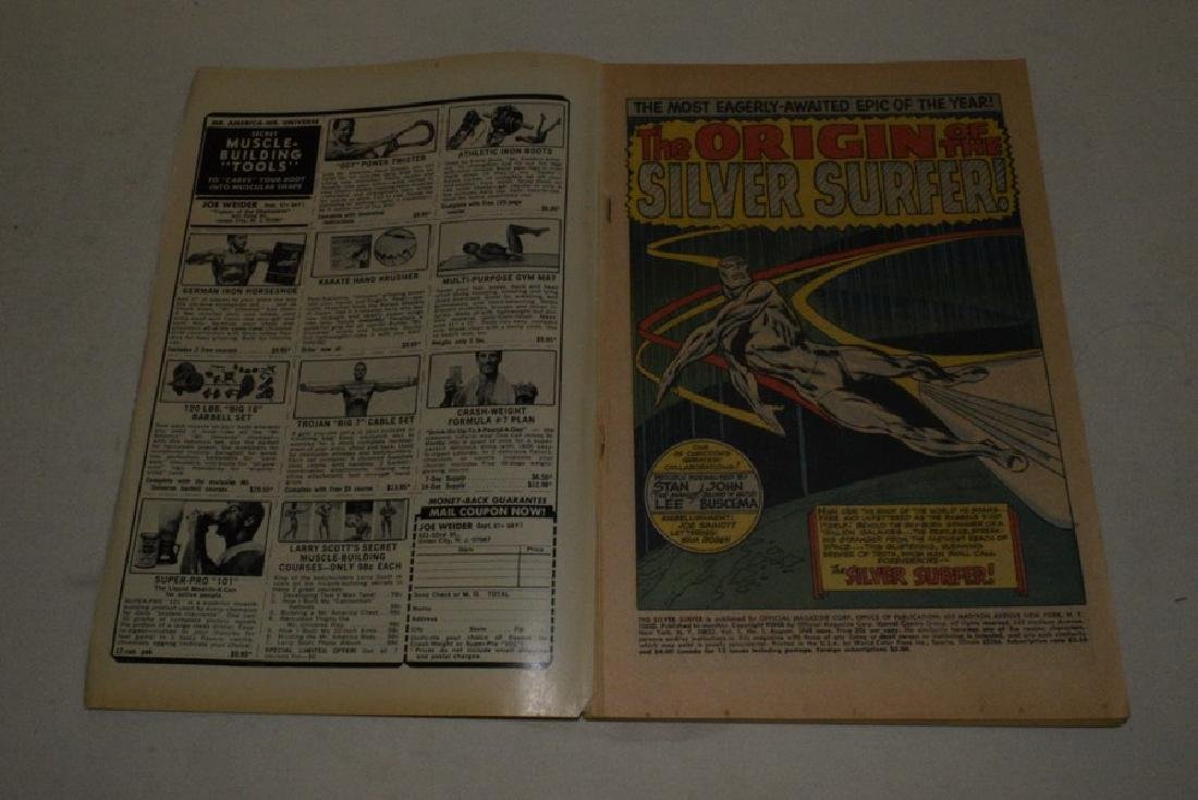 1968 FIRST ISSUE OF SILVER SURFER BY MARVEL COMICS - 3