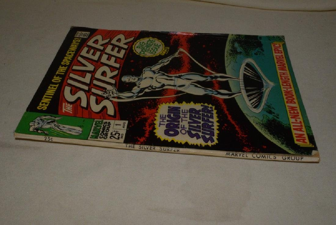 1968 FIRST ISSUE OF SILVER SURFER BY MARVEL COMICS - 7