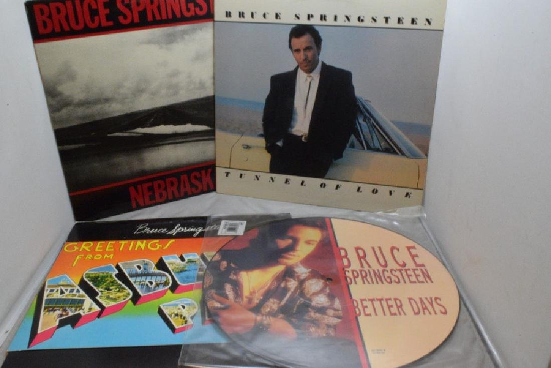 4 BRUCE SPRINGSTEEN 33 RPM RECORD ALBUMS - BETTER