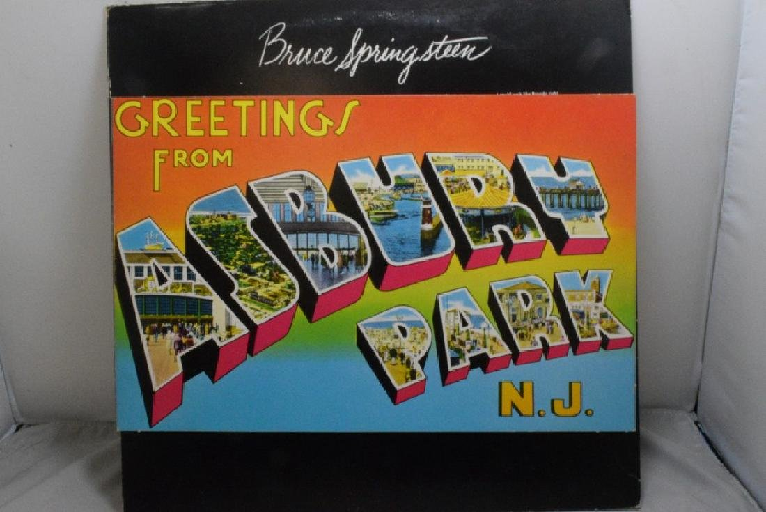 4 BRUCE SPRINGSTEEN 33 RPM RECORD ALBUMS - BETTER - 8