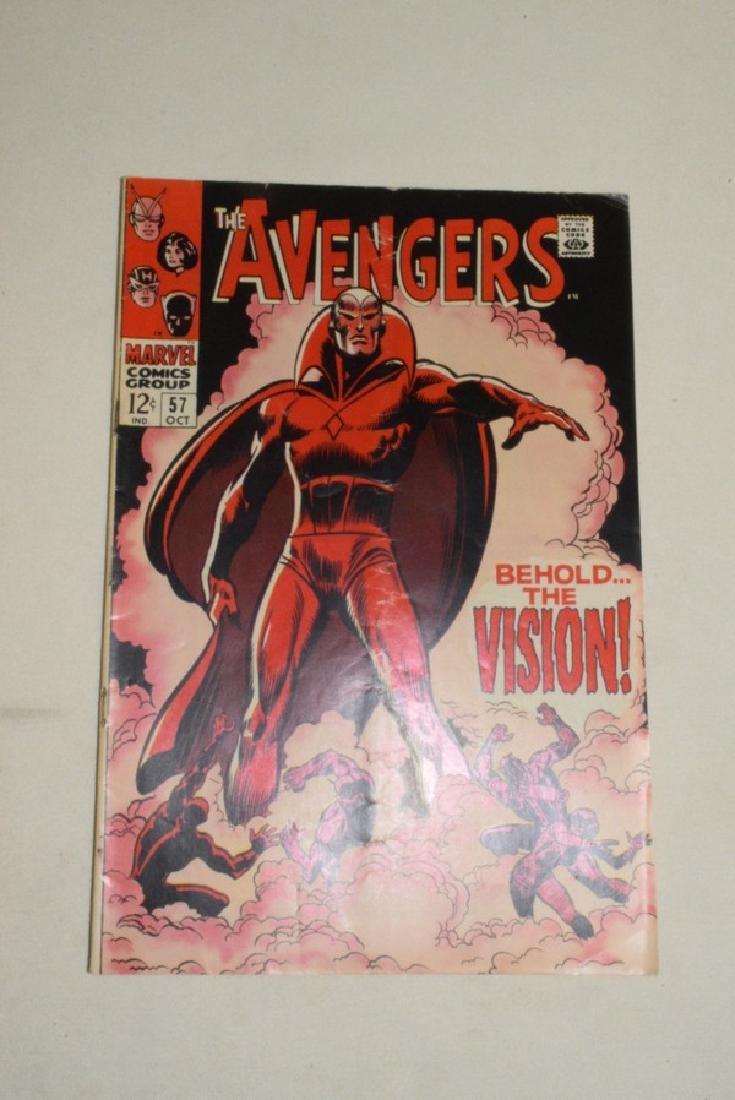 THE AVENGERS OCT 1968 #57