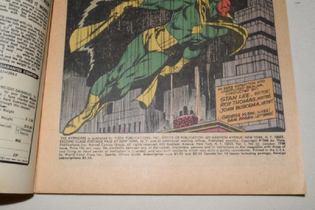 THE AVENGERS OCT 1968 #57 - 4