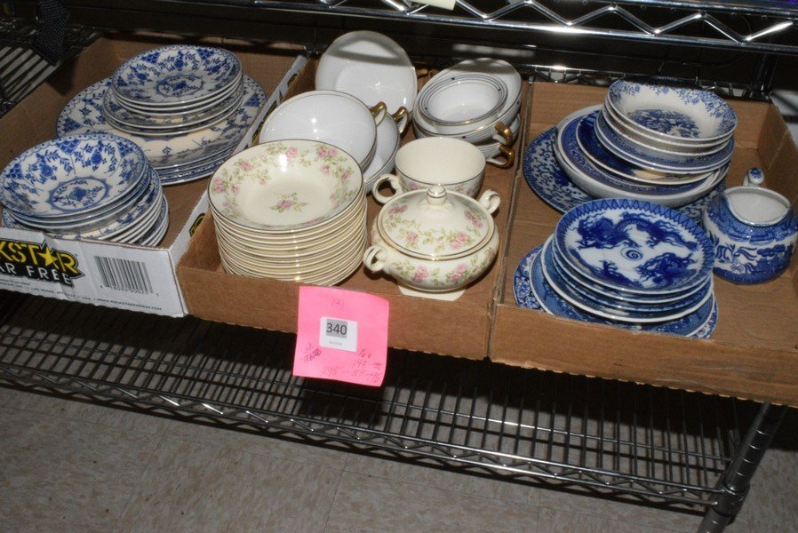 VARIOUS VINTAGE DISHES