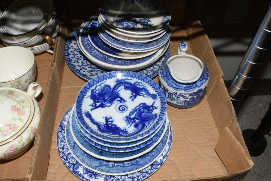 VARIOUS VINTAGE DISHES - 2