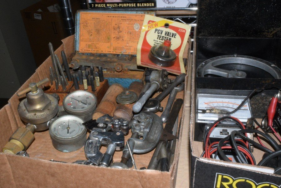 VINTAGE TOOLS - TESTERS AND MORE - 2