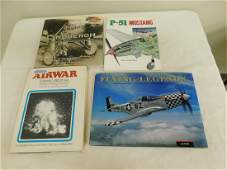 4 COLLECTOR BOOKS ON AIRPLANES AND PILOTS  LINDBE