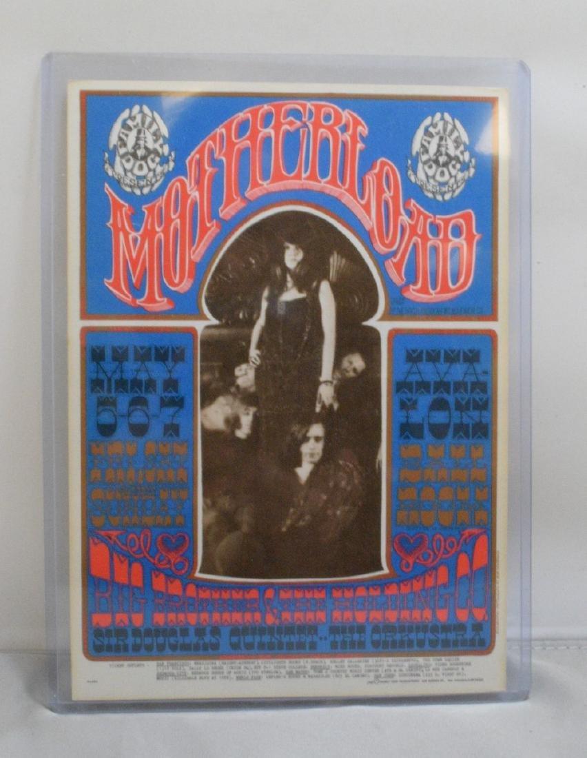 Avalon Ballroom Janis Joplin Handbill