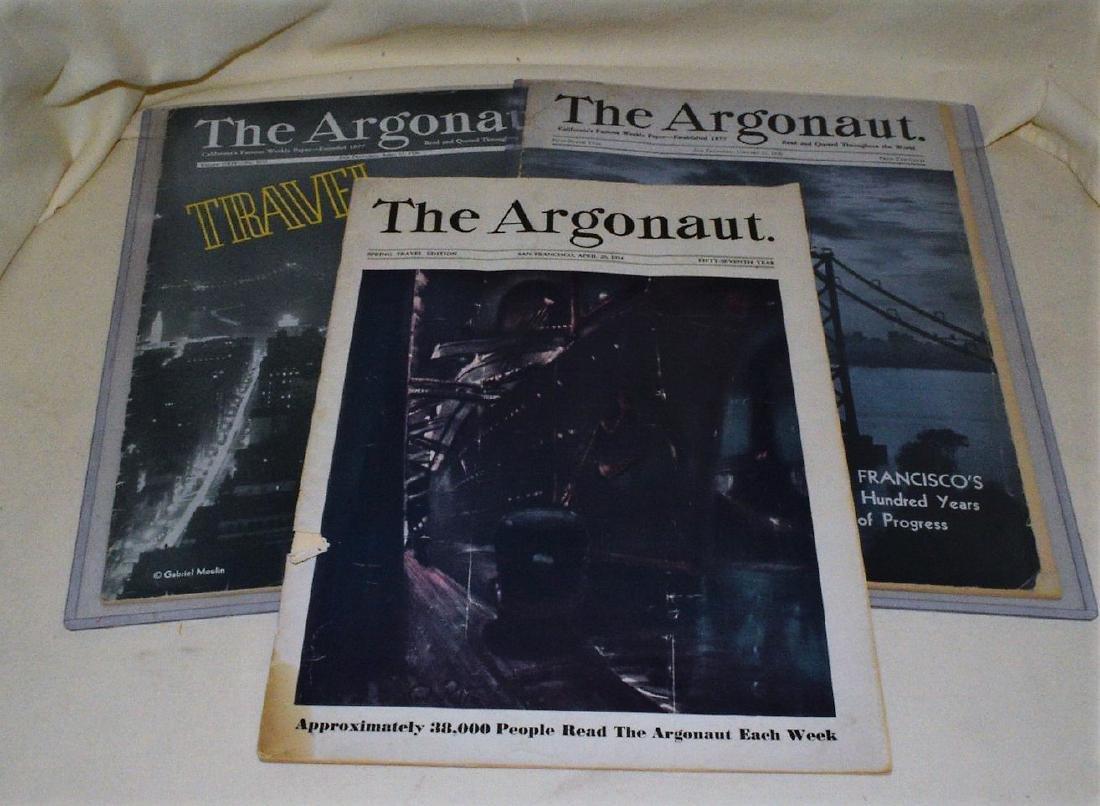 Rare ''The Argonaut'' 1936 Bay Bridge