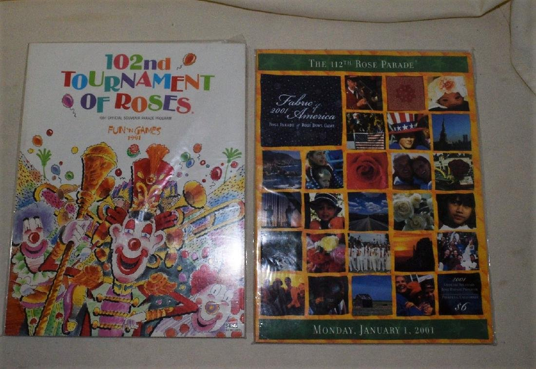 Tournament of Roses Programs - 2