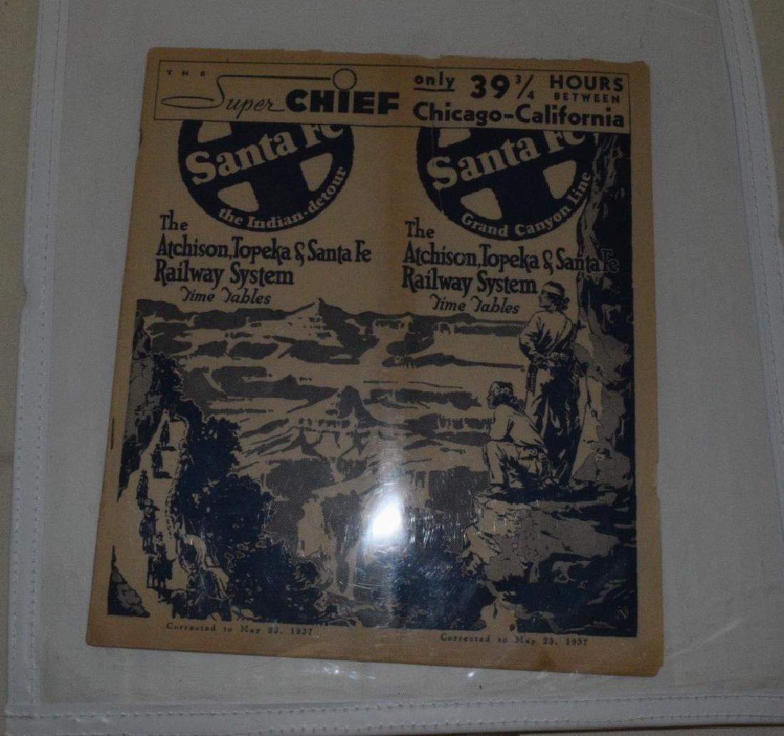 Scarce Santa Fe Railroad Ephemera - 4