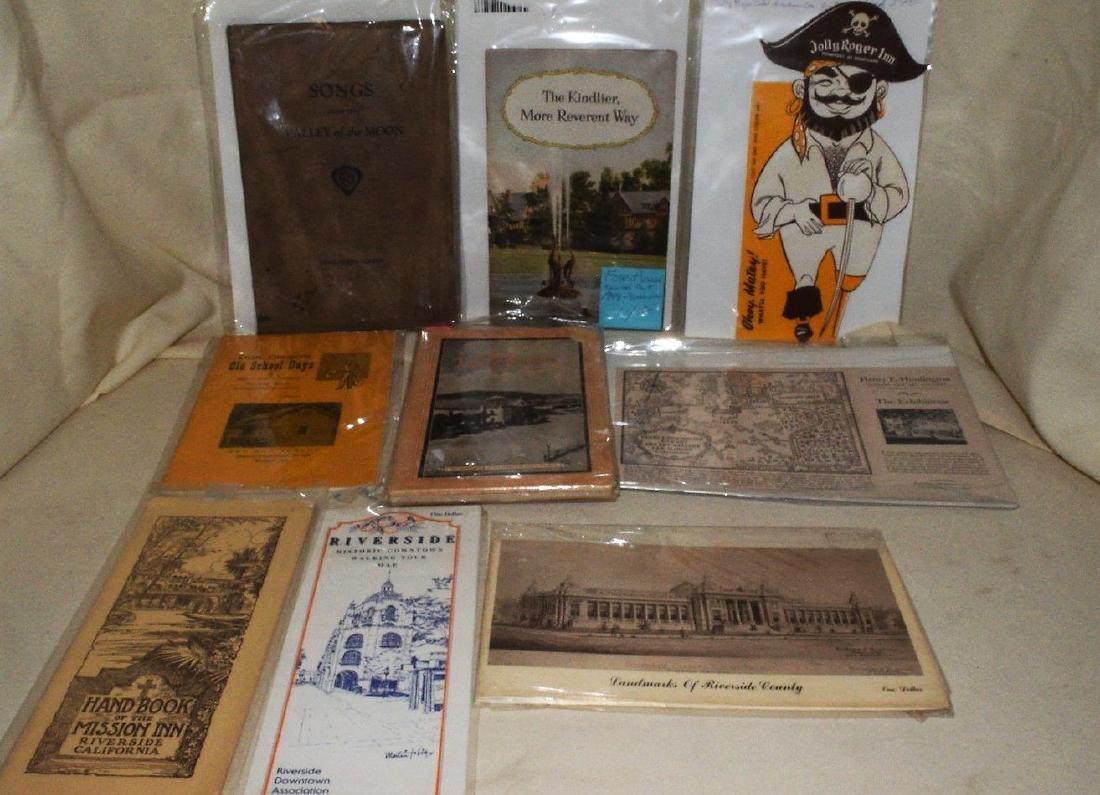 Riverside County Historical Ephemera