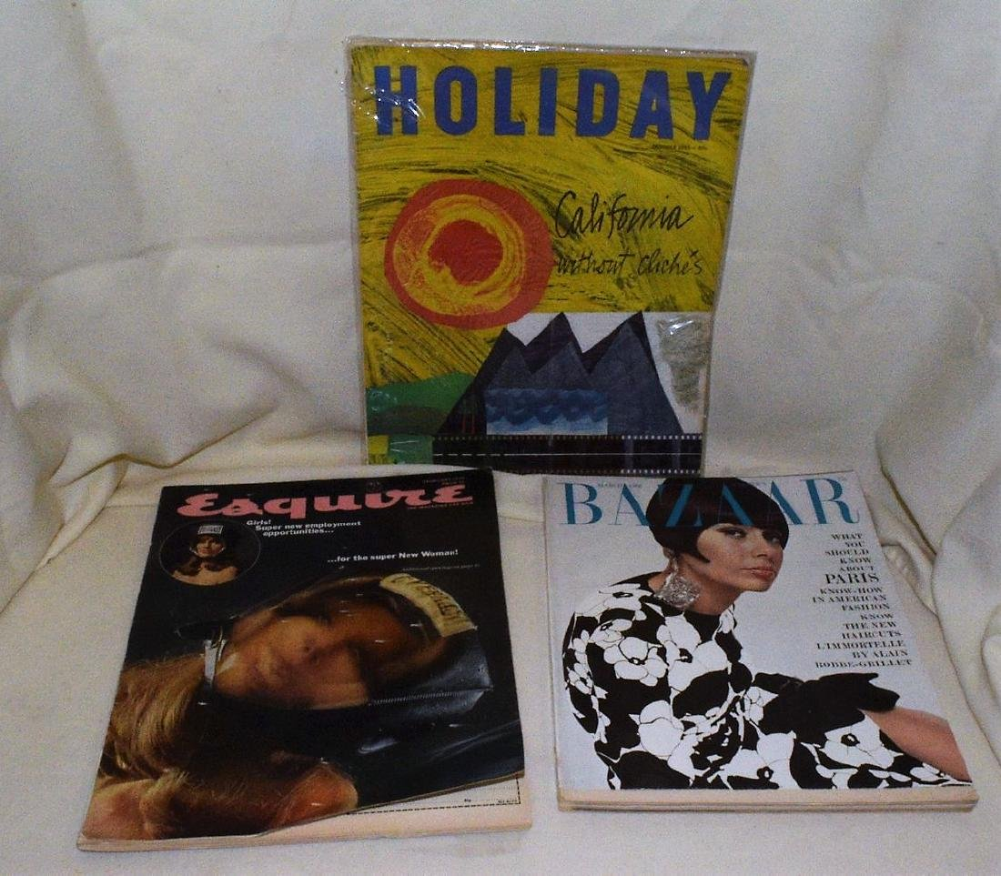 Fashon  Harpers Bizaar & Holiday Mags