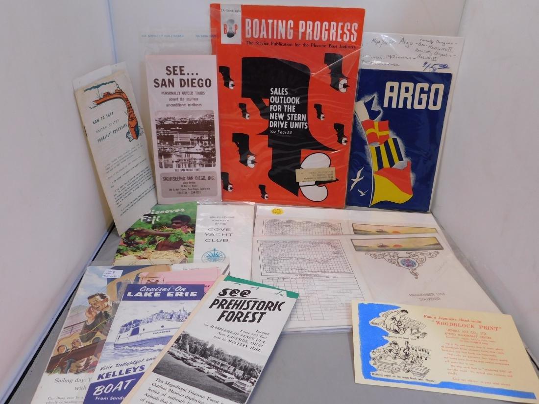 Boating Travel Brochures