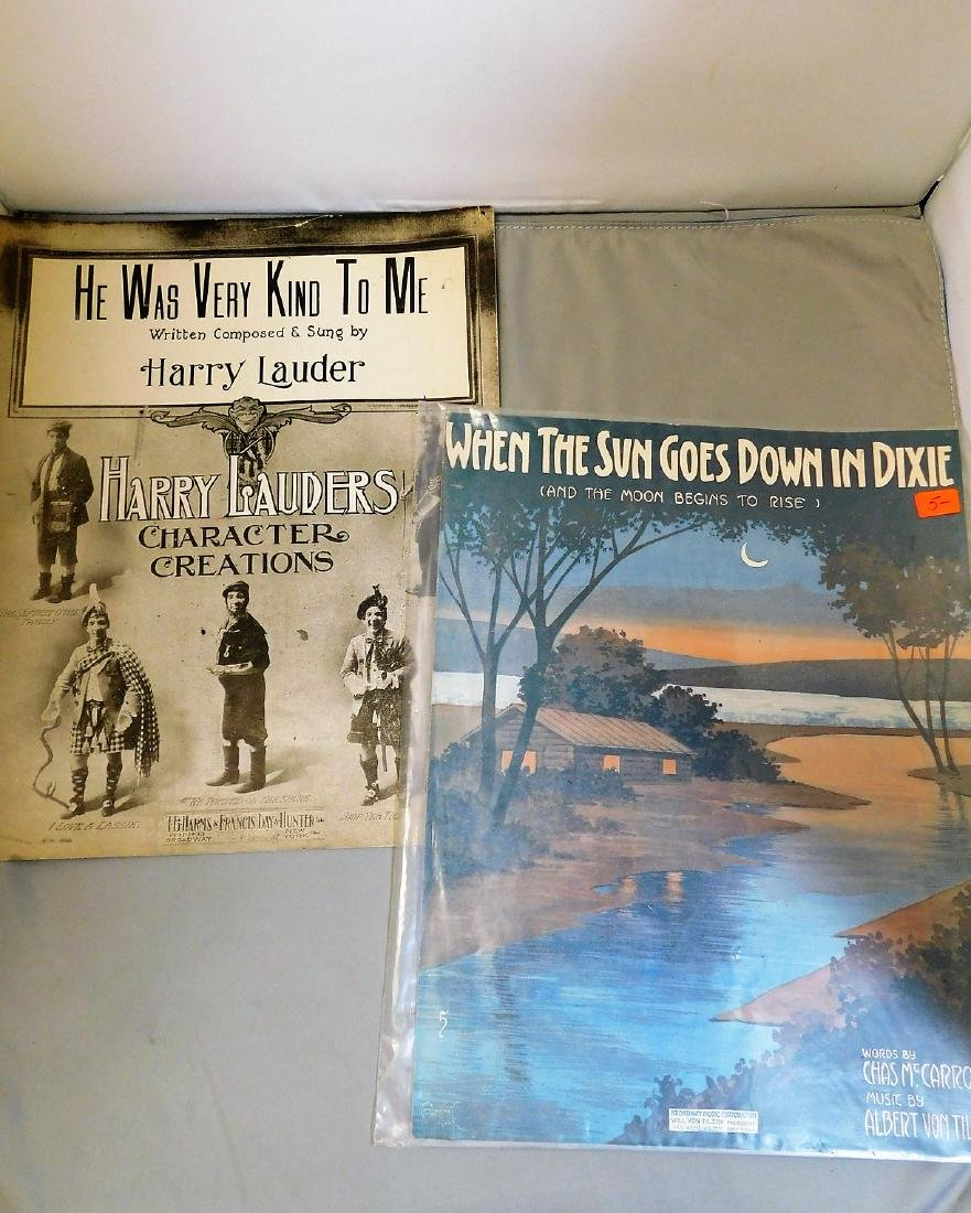 Sheet Music and 1900's Holiday Cards - 3