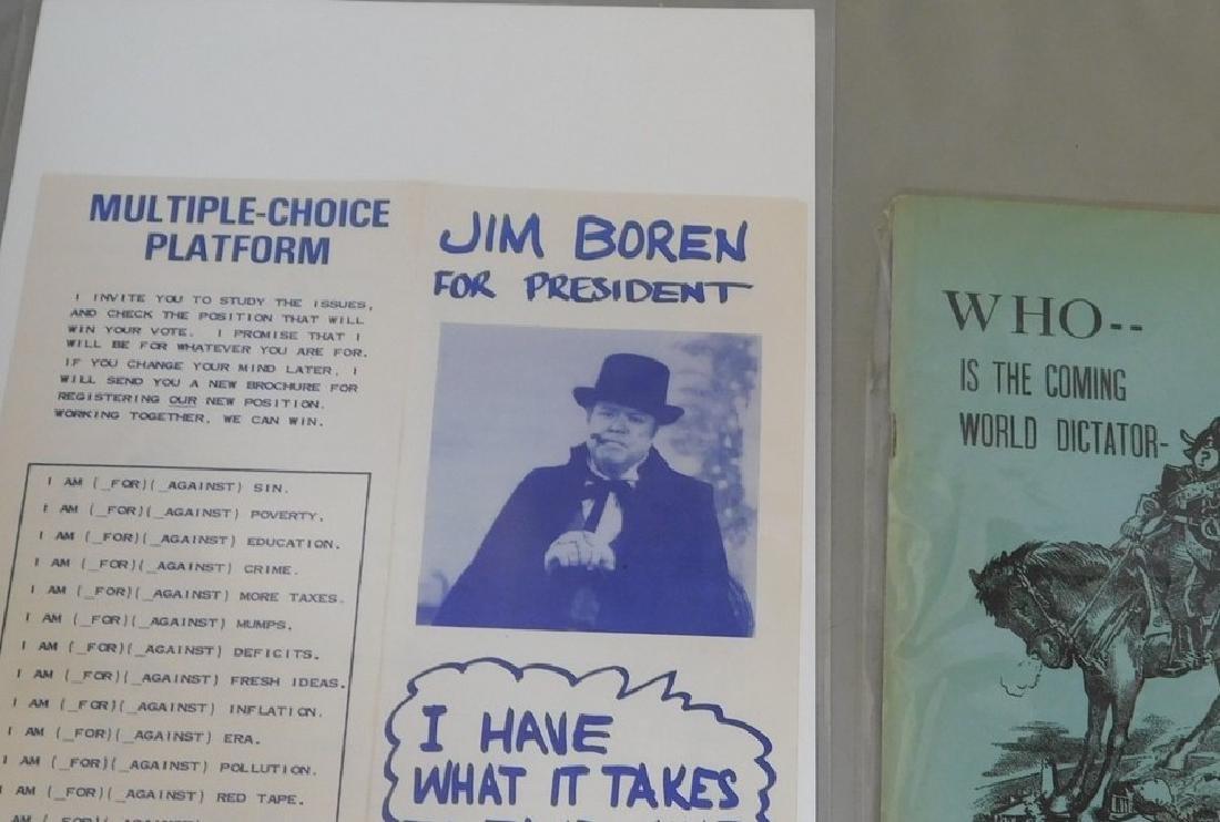 Political Dicator & James Boren