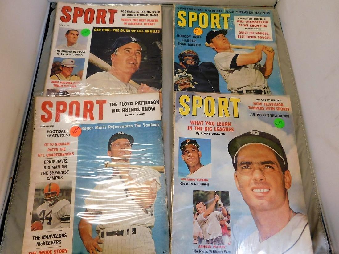 SPORT magazine 1960-61 HoF Covers - 4