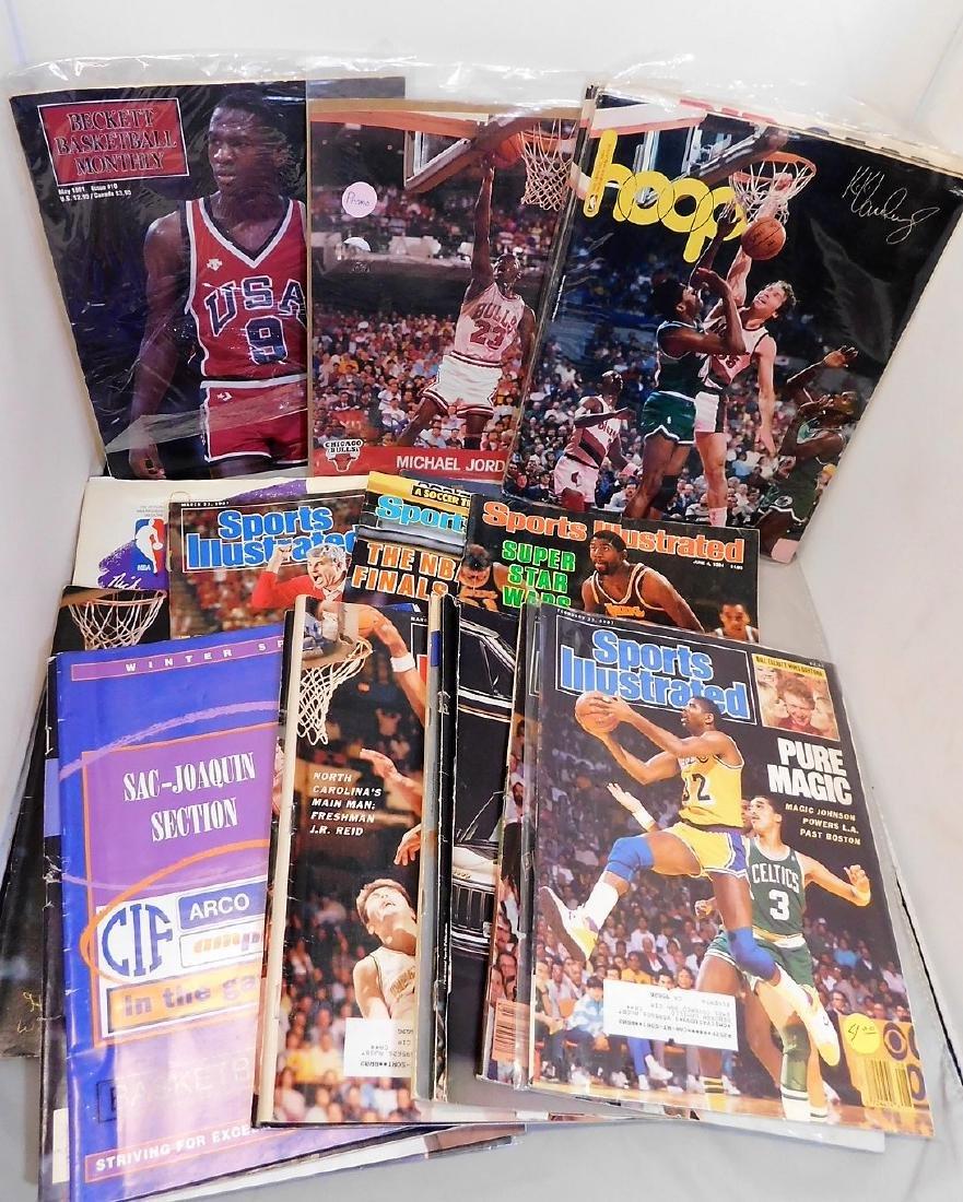 Basket Ball Magazines & Programs
