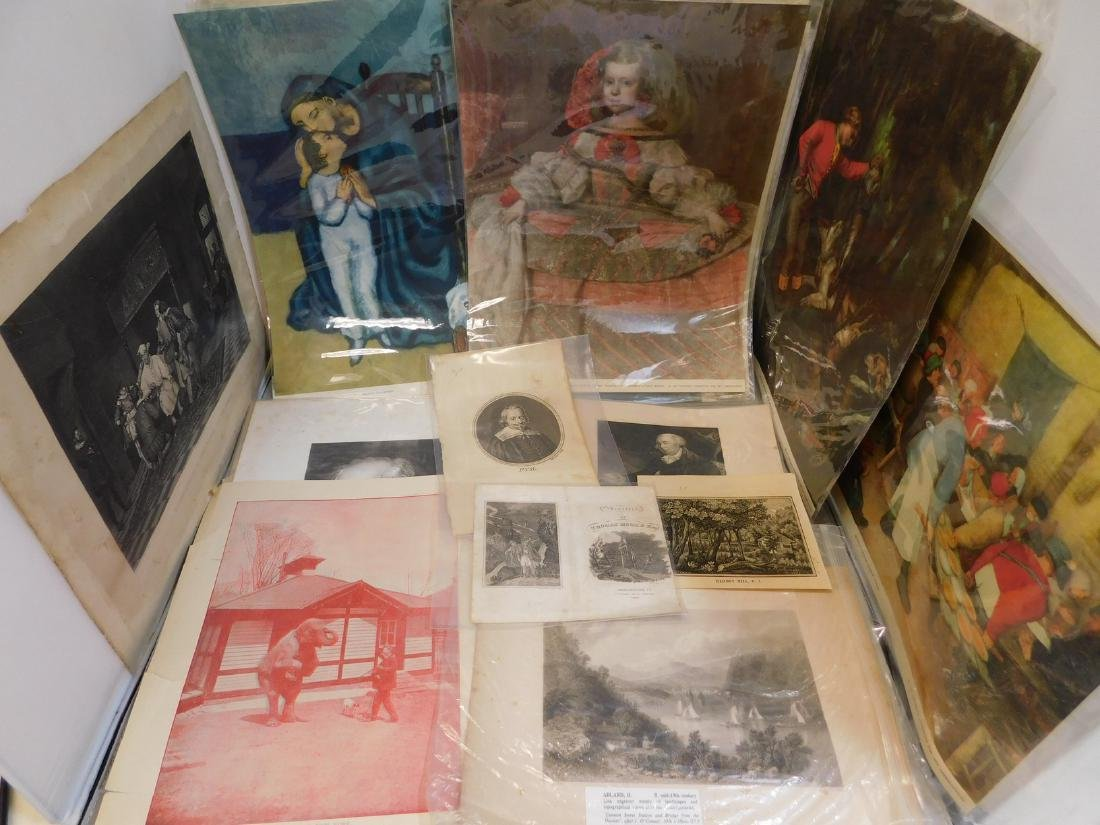 250+ -- 18th & 19th Century Prints; Etchings; Lith