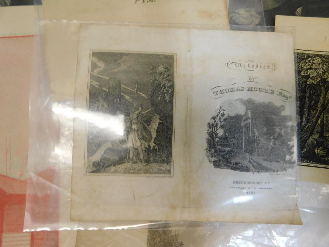 250+ -- 18th & 19th Century Prints; Etchings; Lith - 2