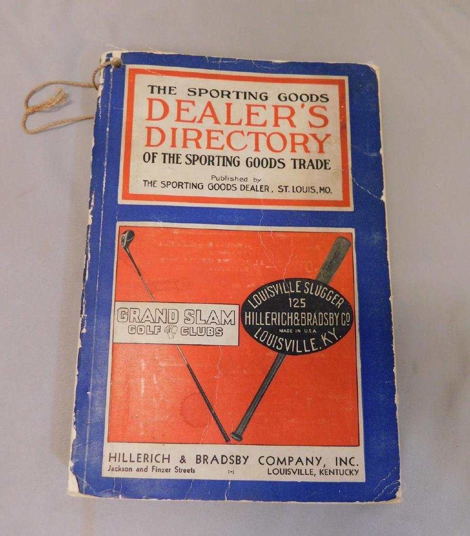1933 Sporting Goods Catalog - 2