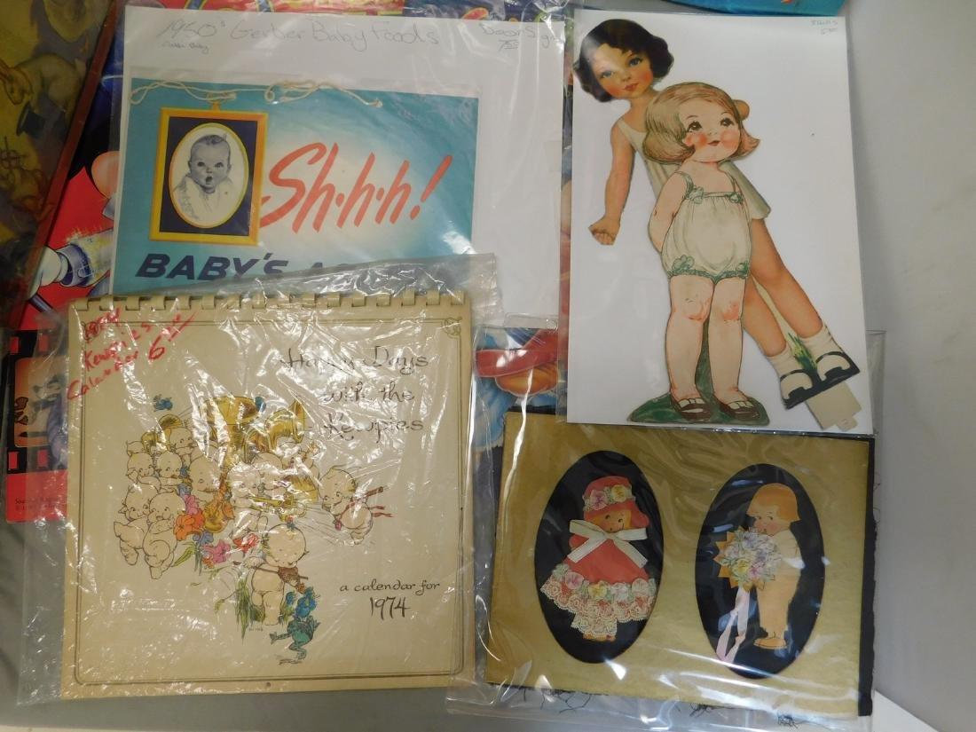 Vintage Childrens Dolls Kewpie; Peter Rabbit - 2