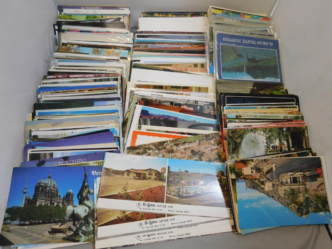 1960S-1990S ASSORTED POSTCARDS