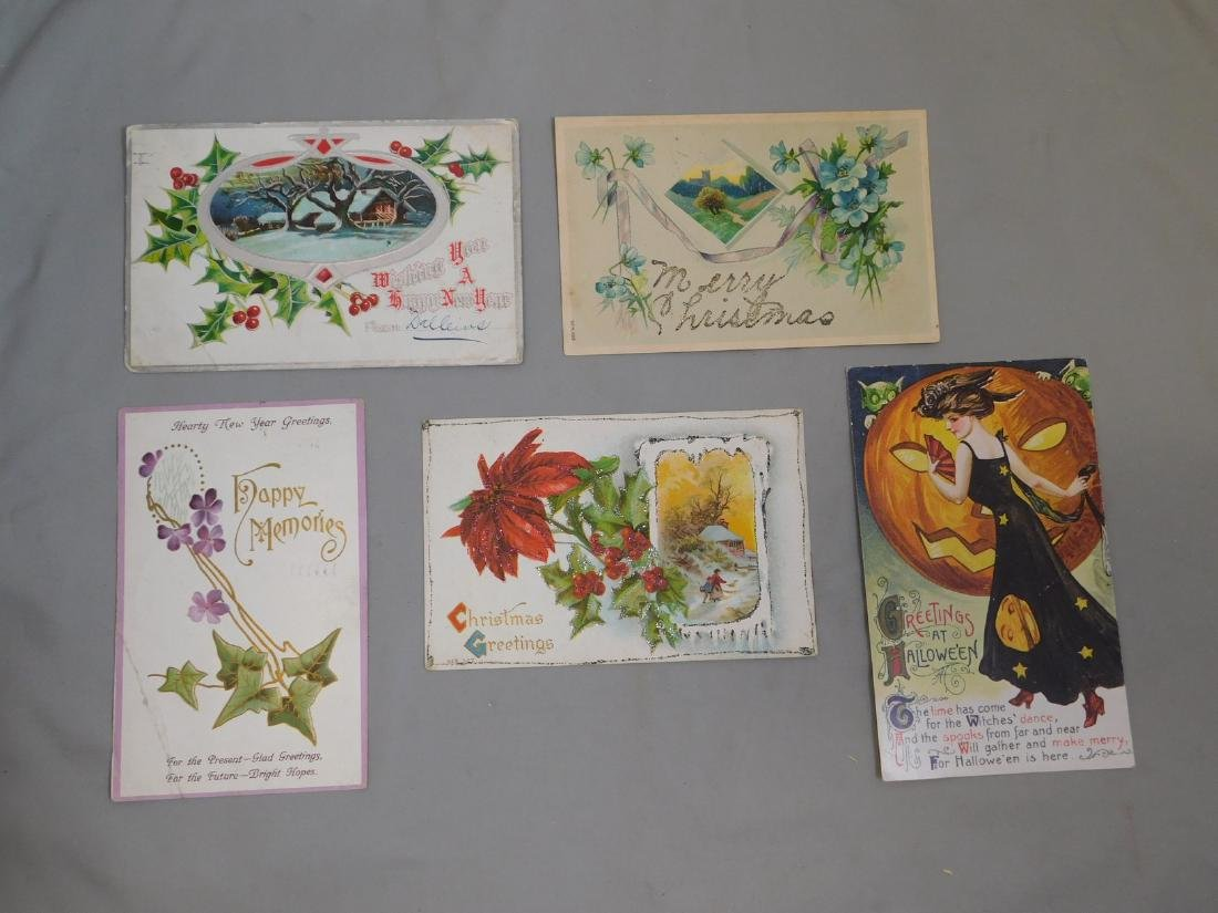 VARIOUS HOLIDAY POSTCARDS - 4