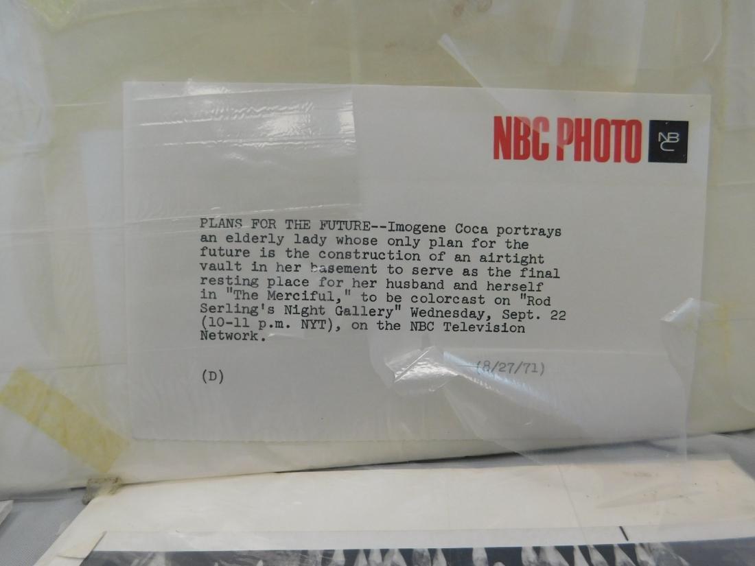 4 VINTAGE NBC PHOTO PROMOTIONS - BLACK & WHITE - 3