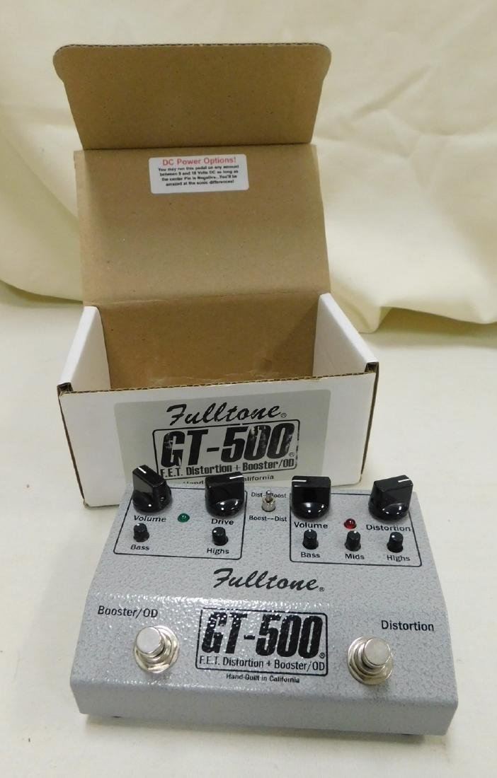 FULLTONE GT-500 DISTORTION GUITAR EFFECTS PEDAL -