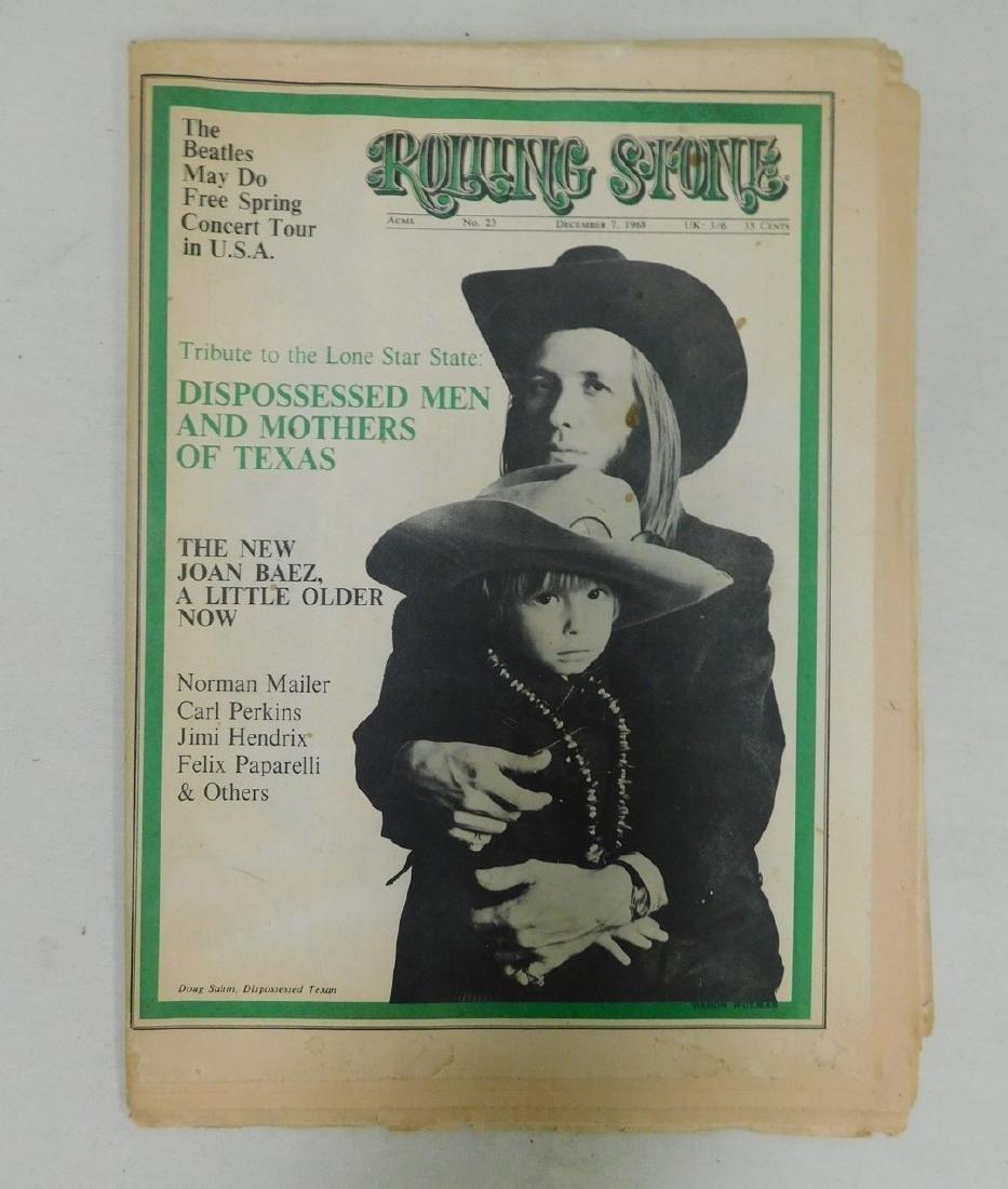 ROLLING STONE NEWSPAPER MAGAZINE ACME NO 23 - JOAN