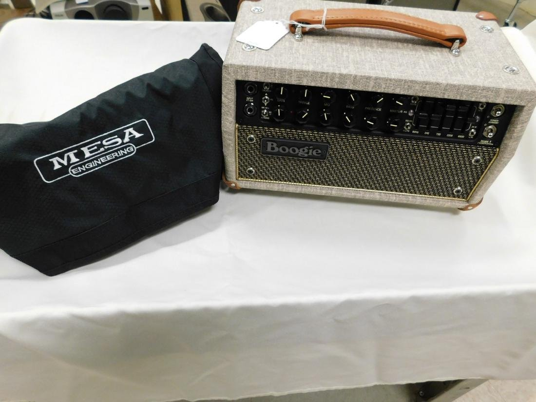 MESA MARK FIVE BOOGIE AMP WITH COVER