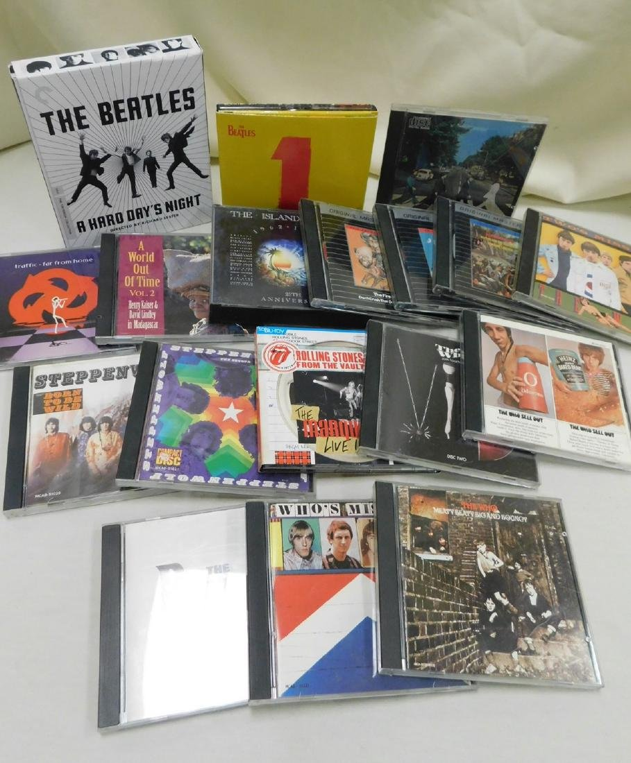 COLLECTION OF MUSIC CDS