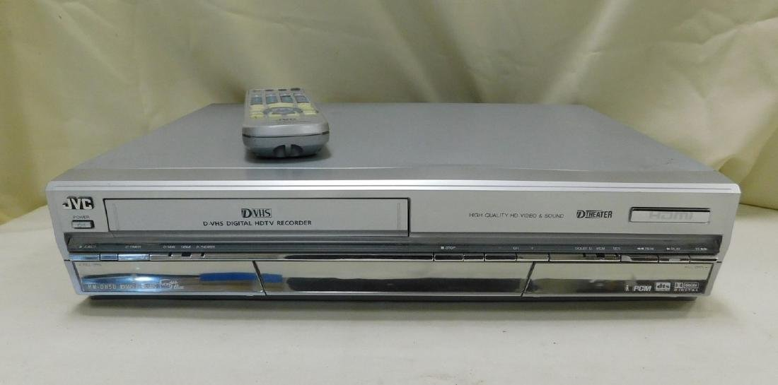 JVC DVHS WITH REMOTE