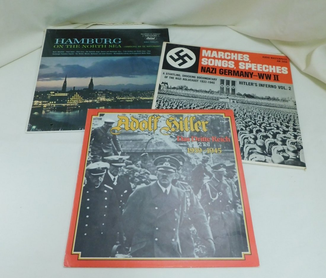 WORLD WAR II GERMAN ALBUMS & MORE