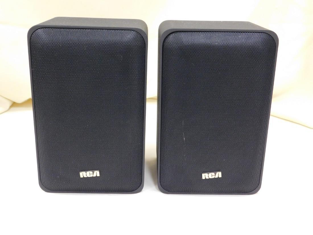 2 RCA 5 INCH 2 WAY SPEAKER SYSTEM