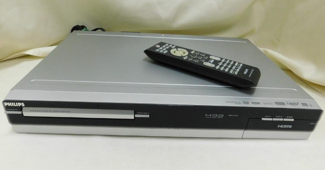 PHILLIPS HDD & DVD PLAYER RECORDER
