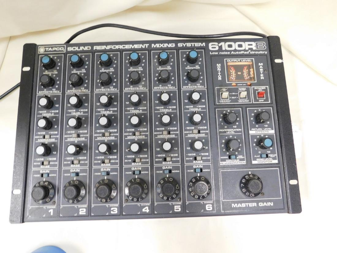 TAPCO SOUND REINFORCEMENT MIXING SYSTEM