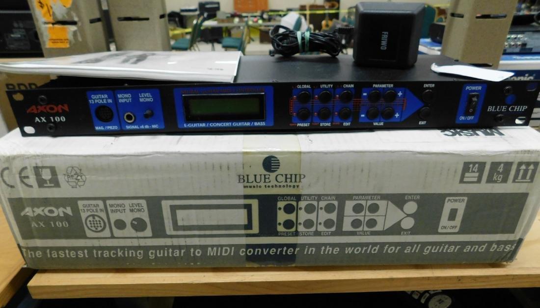 BLUE CHIP AXON AX100 MIDI CONVERTER FOR GUITAR & B