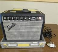 FENDER AMP WITH HARD CASE