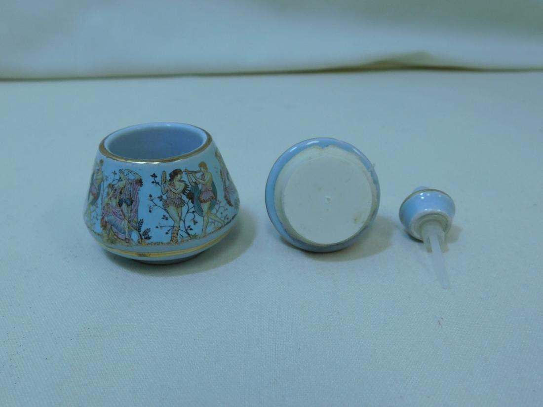 VINTAGE ART GLASS PERFUME BOTTLES - 5