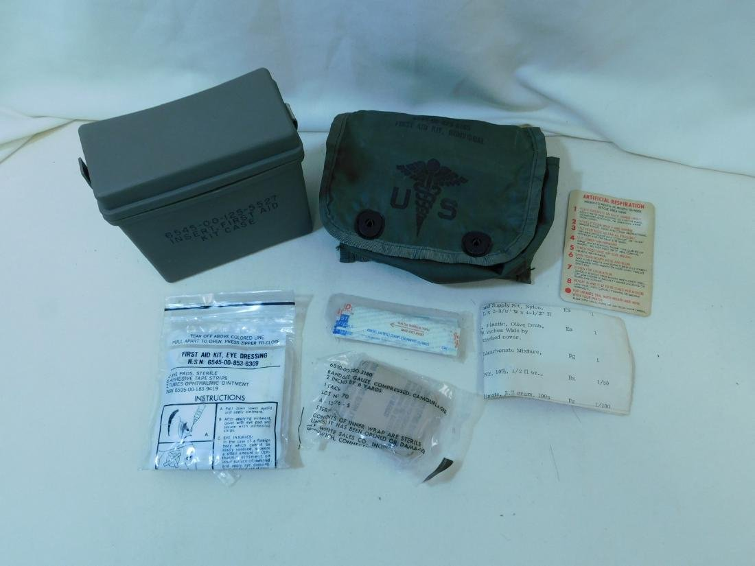 US MARINE CORPS FIRST AID KIT - INDIVIDUAL & MORE - 4