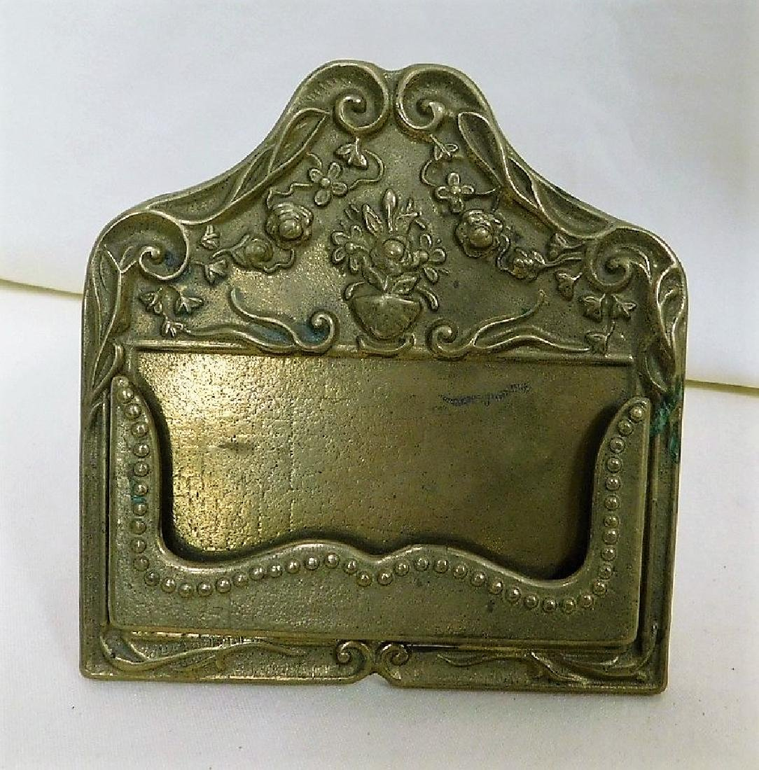 VINTAGE CARD HOLDER & BOTTLE OPENER - 2