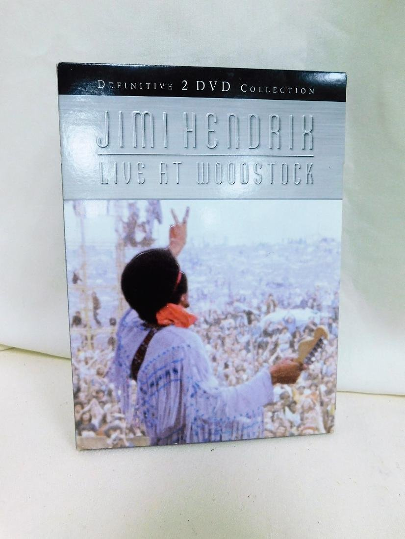 RARE WOODSTOCK CD SET & DVD - 2