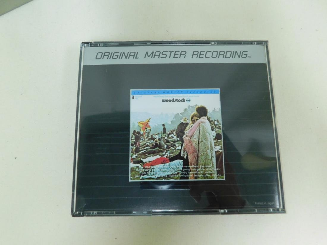 RARE WOODSTOCK CD SET & DVD - 7