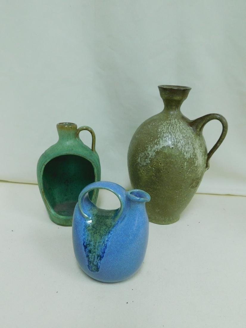 3 JUG STYLE POTTERY PIECES