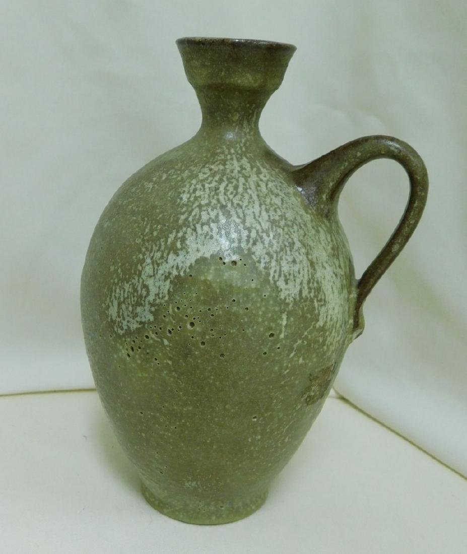 3 JUG STYLE POTTERY PIECES - 2