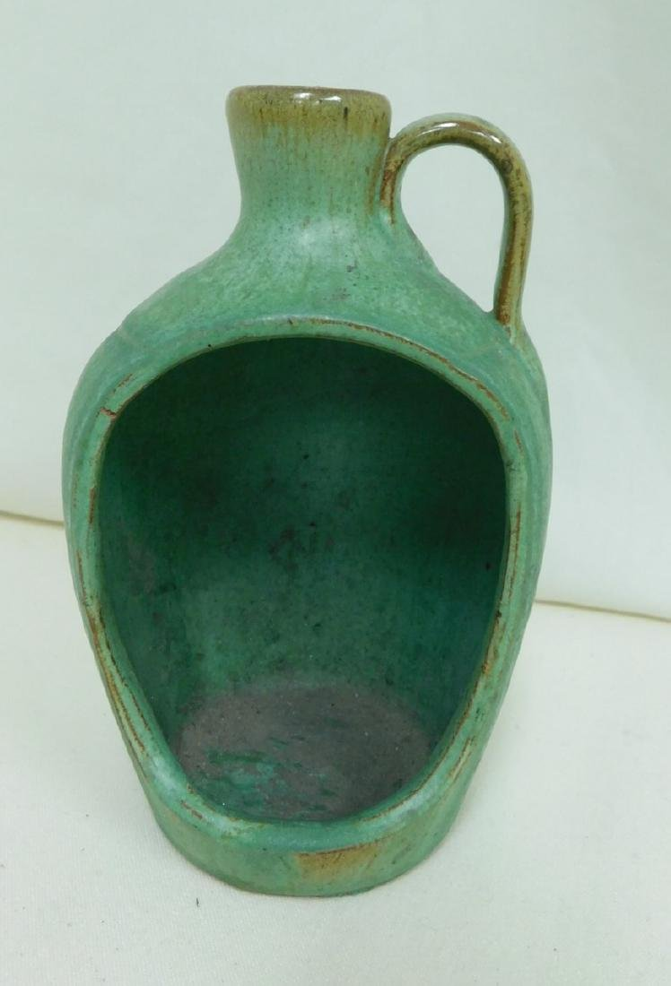 3 JUG STYLE POTTERY PIECES - 4