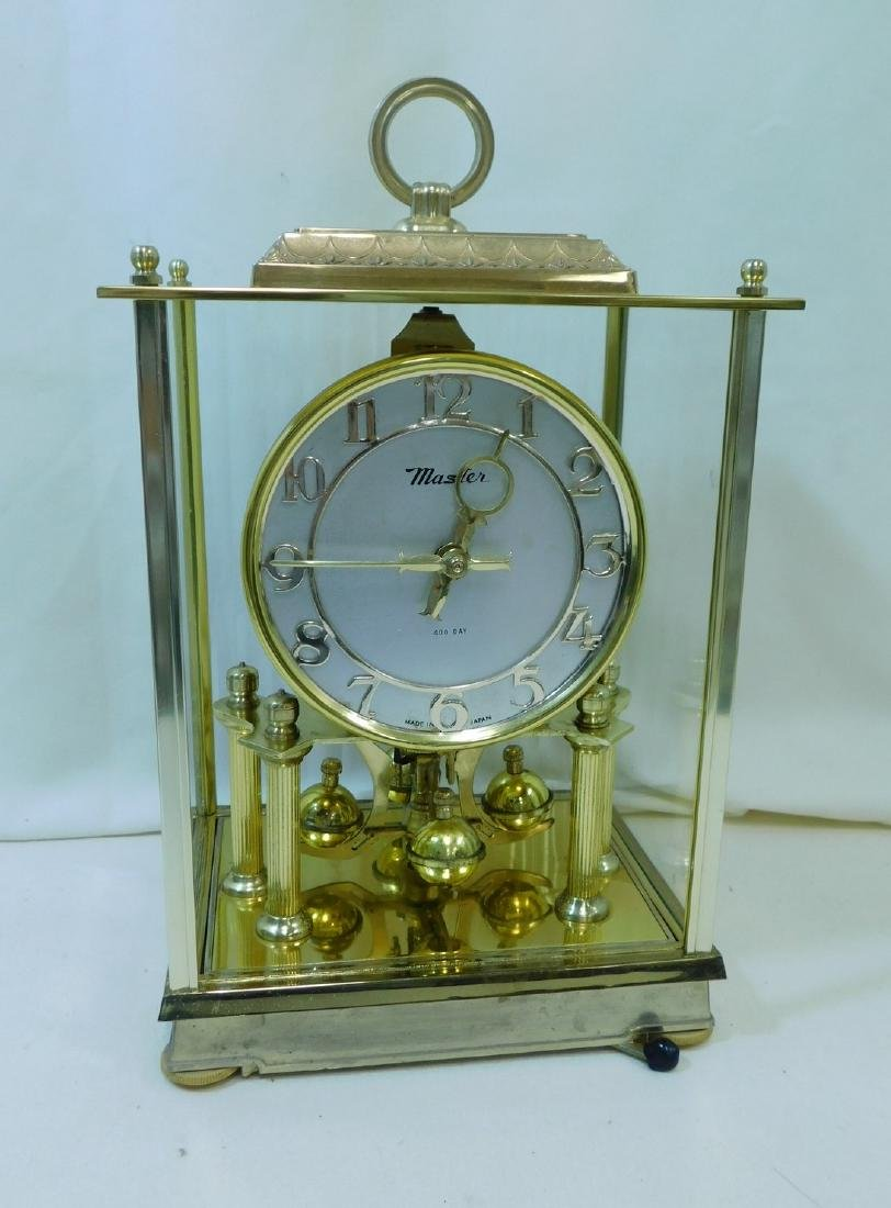 2 MANTEL/DESK CLOCKS - 2